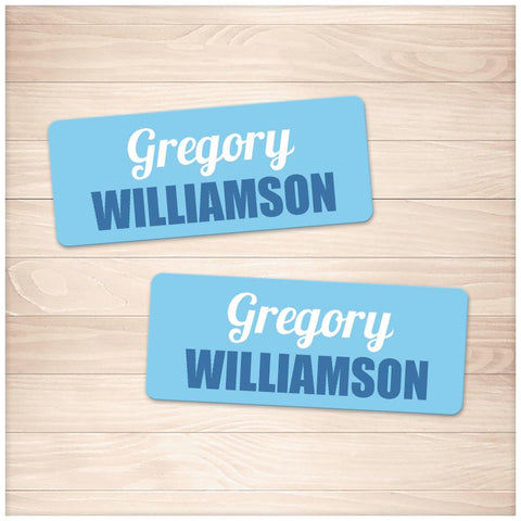 Printable Blue Name Labels for School Supplies at Printable Planning