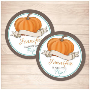 photograph relating to Teal Pumpkin Printable referred to as Teal Pumpkin Above in direction of Pop Customized Prefer Stickers - Printable at Printable Creating for just 5.00