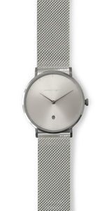Andreas Ingeman watches - Five O NINE with Stainless steel mesh band. O NINE Collection.