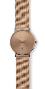 Andreas Ingeman watches - Four O NINE with stainless steel mesh band. O NINE Collection.