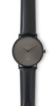 Load image into Gallery viewer, Andreas Ingeman watches - Three O NINE watch with black lacquer wristband. O NINE Collection.