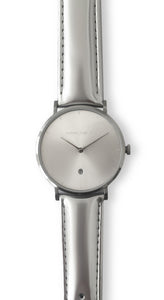 Andreas Ingeman Watches - Two O NINE watch with Silver Lacquer wristband. O NINE Collection.
