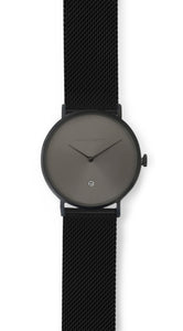 Andreas Ingeman watches - Six O NINE with stainless steel black mesh band. O NINE Collection.
