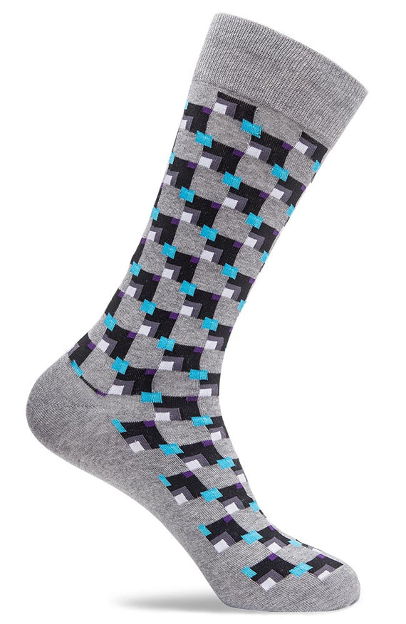 Mens Geometric Socks
