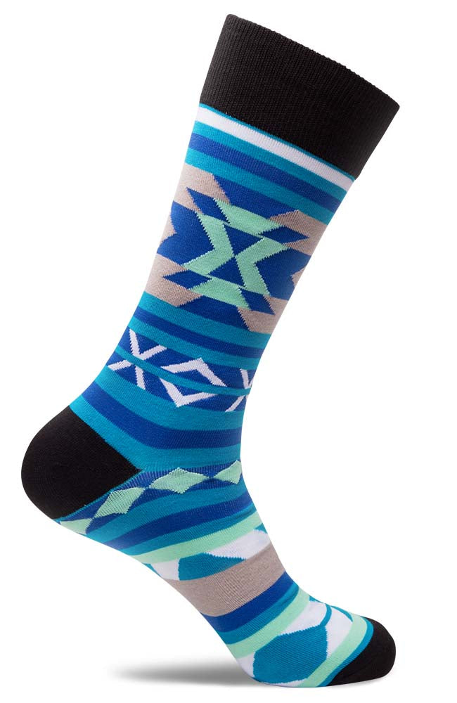 Mens Abstract of the West Socks