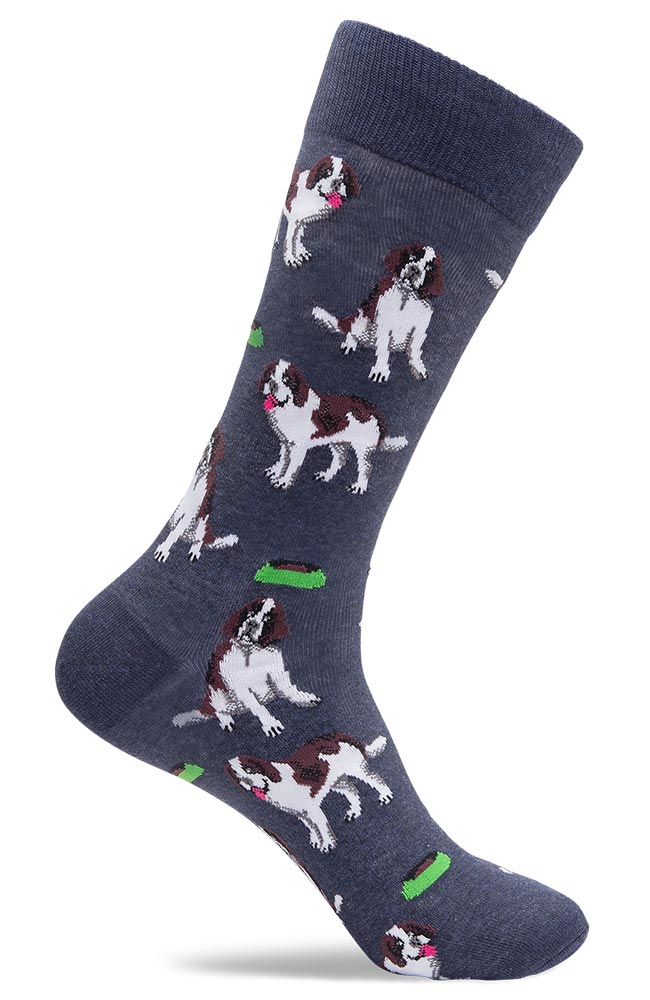 Mens St Bernard Dress Socks