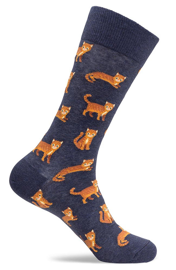 Mens Cat Novelty Socks