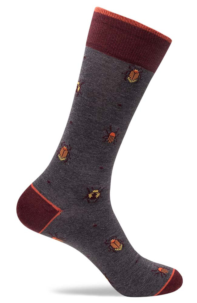 Mens Beetle Bug Socks