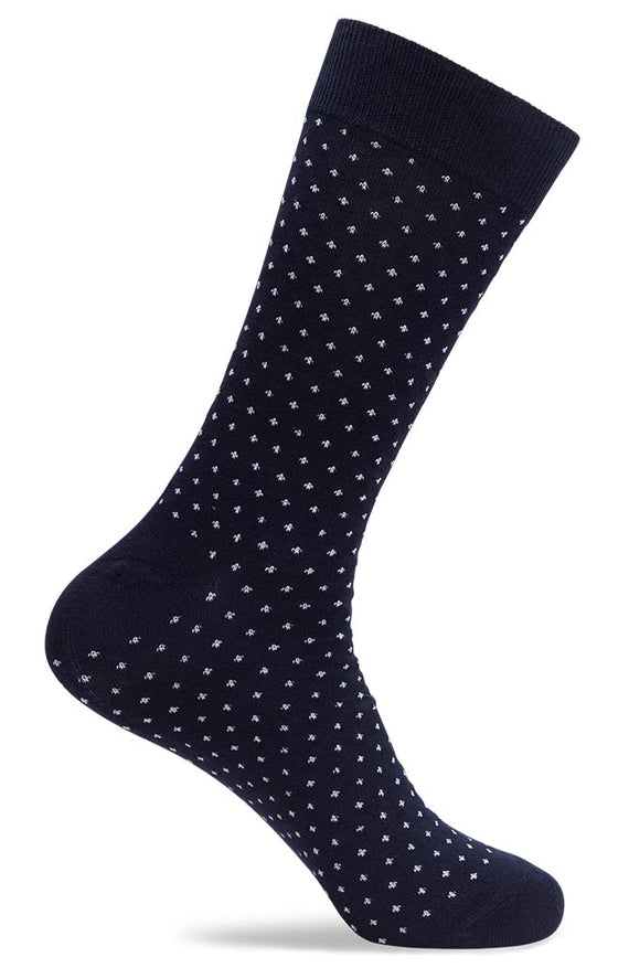 Mens Distorted Dot Socks