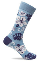 Mens Floral Design Socks