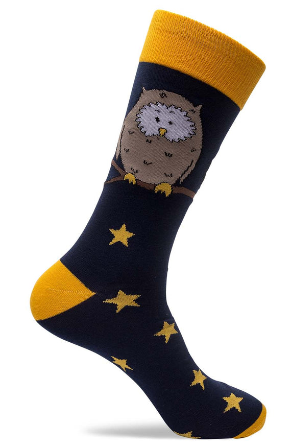 Mens Owl Socks