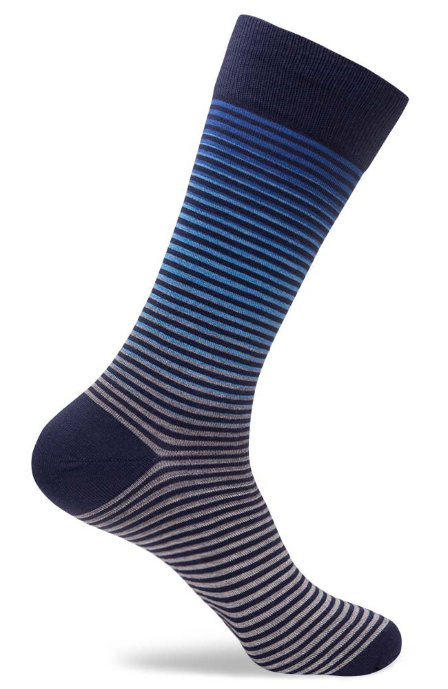 Mens Rise Mini Stripe Socks