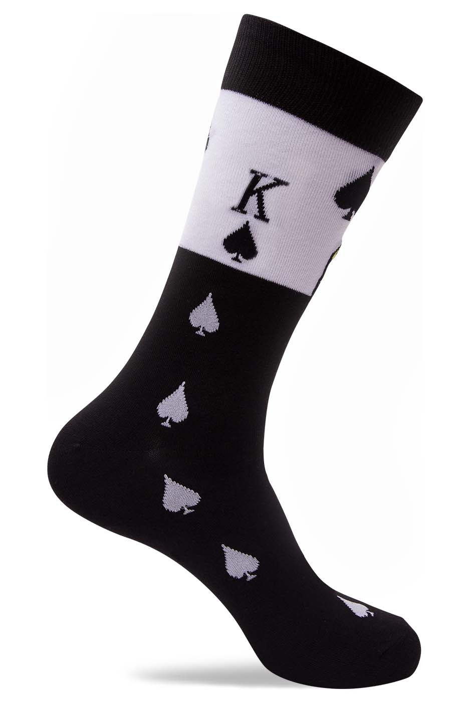 Mens King of Spade Socks