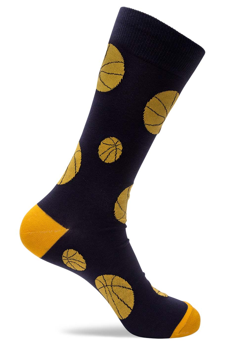 Mens Basketball Novelty Dress Socks