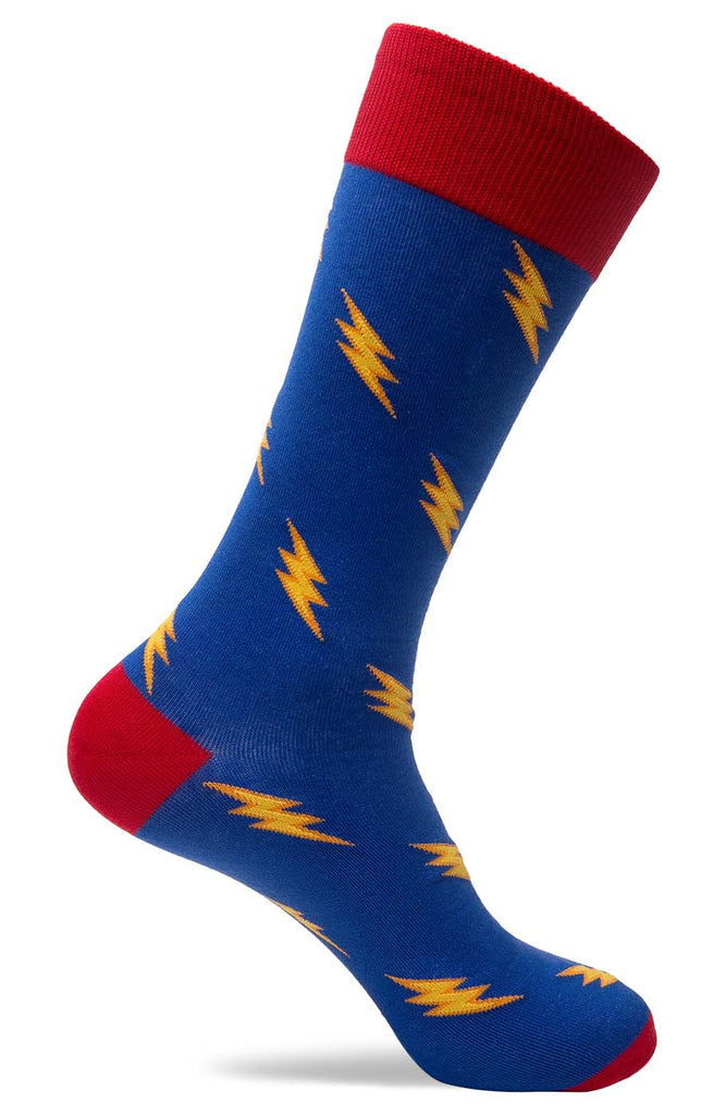 Mens Lightning Flash Socks