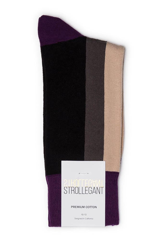 Strollegant Vertical Stripe Socks