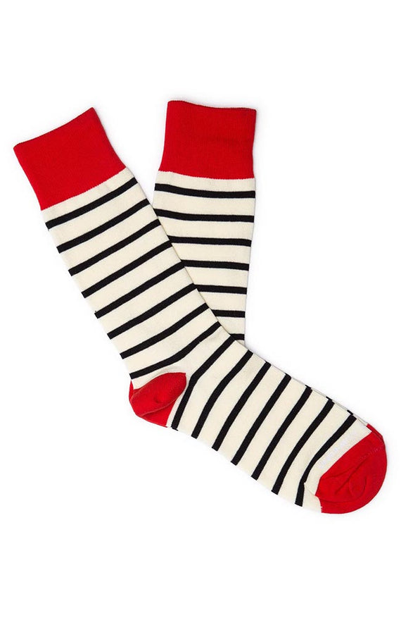Unsimply Stitched Iso Striped Socks