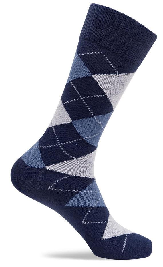 Mens Tonal Argyle Socks