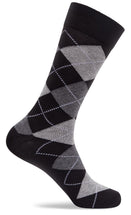 Mens Colorful Argyle Dress Socks