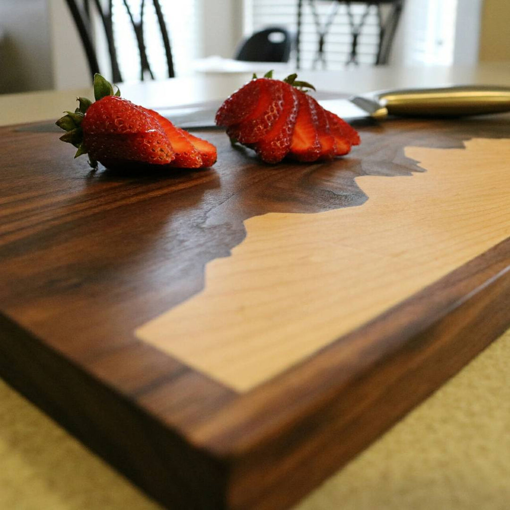 Custom Inlay Cutting Boards For A Realtor