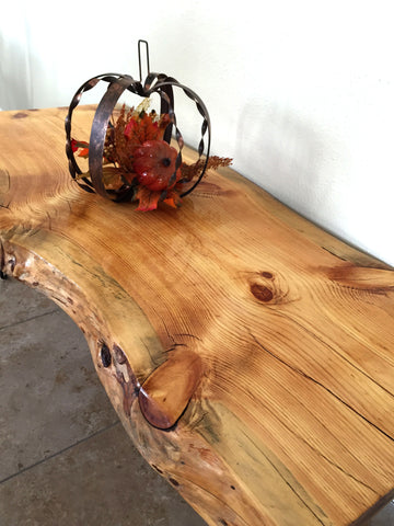 Fir Live Edge Coffee Table