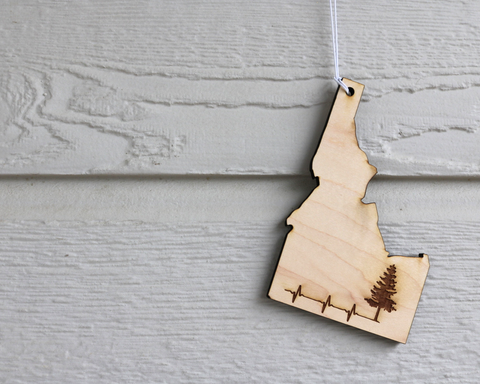 Idaho Heart Of Timber Hanging