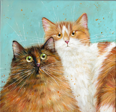 Penny and Tiger Marie by Kim Haskins
