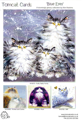 Kim Haskins greetings cards TomCat