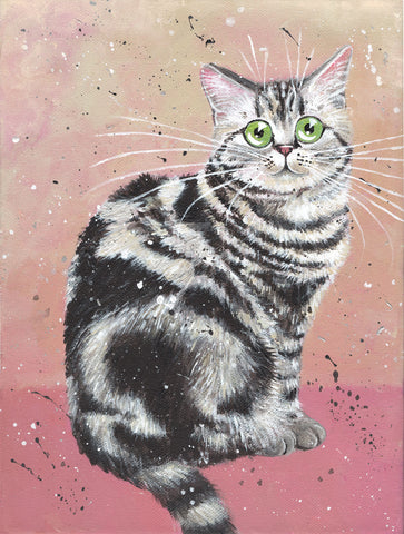 Elvis the cat by Kim Haskins