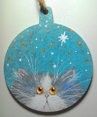 Wish - Christmas decoration by Kim Haskins