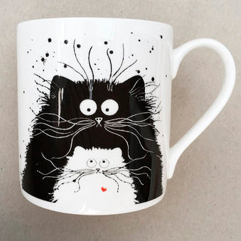 You're Purrfect cat mug by Kim Haskins