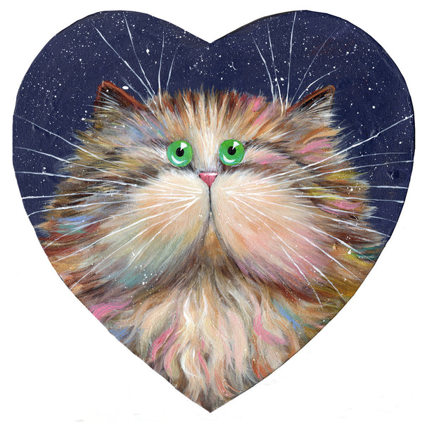 Heart Candy Cat by Kim Haskins