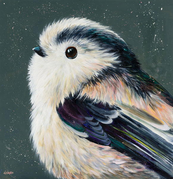 Long tailed tit by Kim Haskins