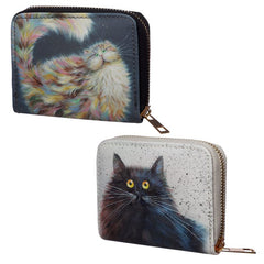 Patapoufette and Herman zip purses wallets by Kim Haskins