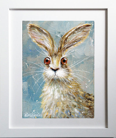 'Hare' poster print