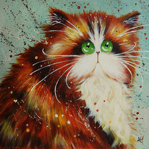 'Maisie' signed & mounted print