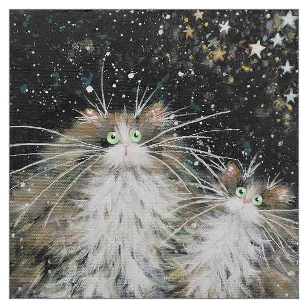 'Stargazing' greetings card