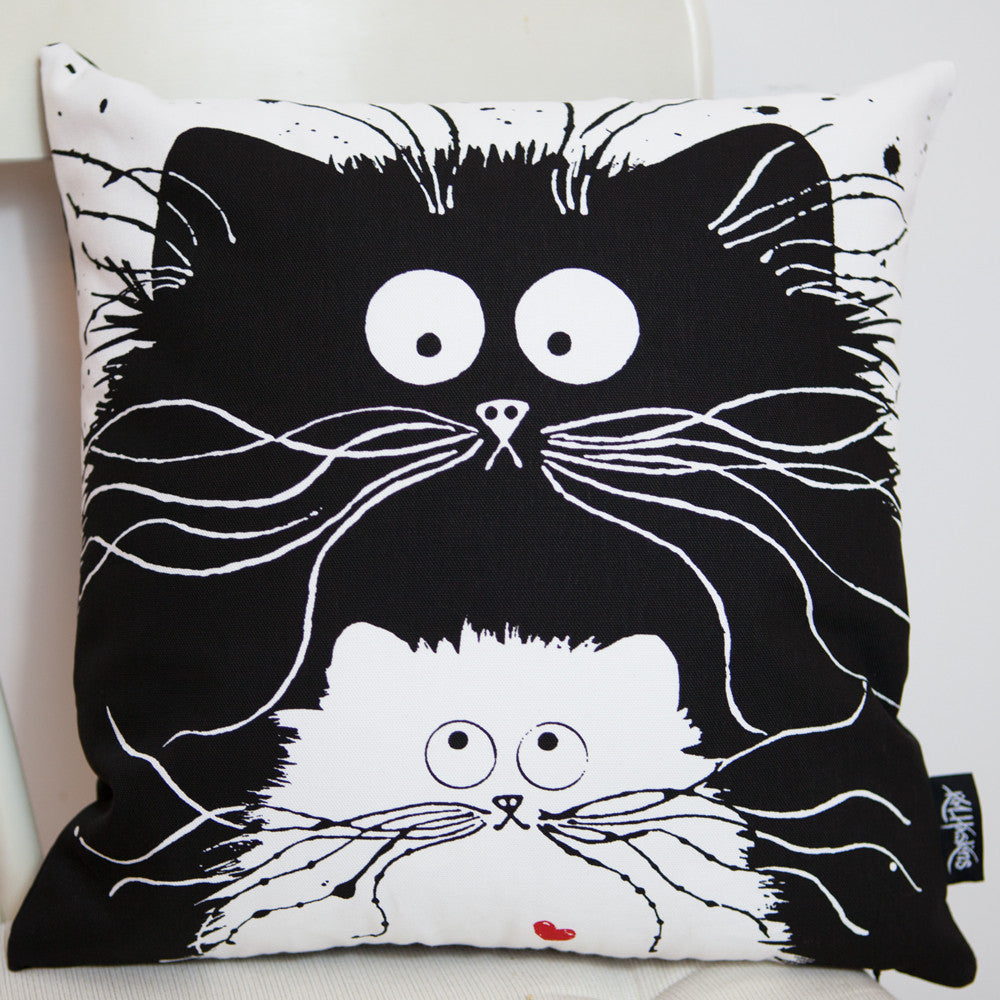 'You're Purrfect' cushion cover