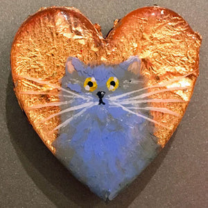 Cat heart magnets