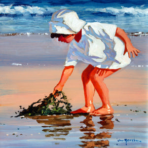 'Serious About Seaweed' original painting by John Haskins