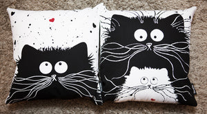 'You're Purrfect' cushion