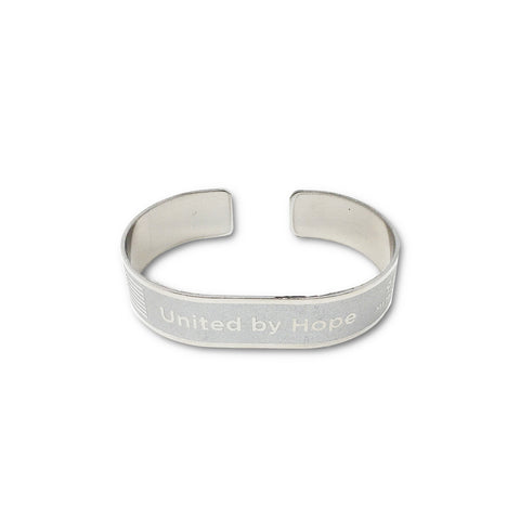 United By Hope Metal Memorial Bracelet