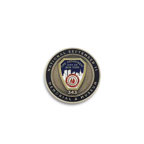 FDNY Collectors Coin