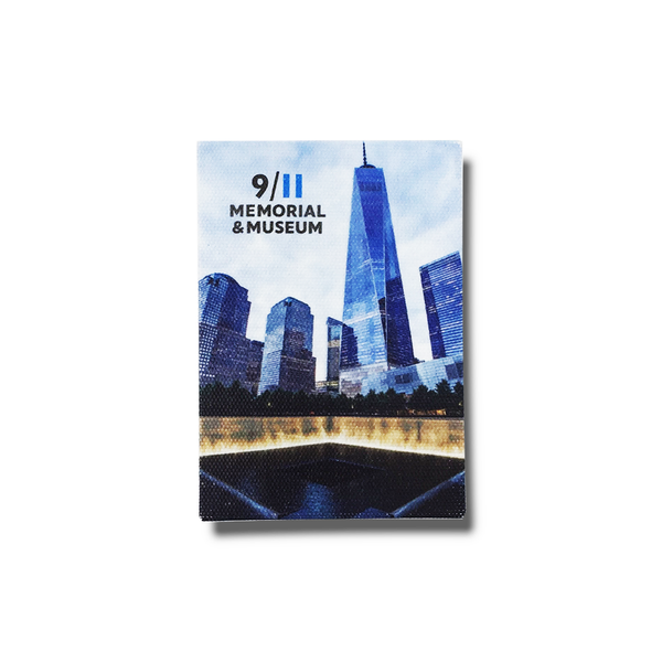 Memorial & 1 WTC Canvas Magnet
