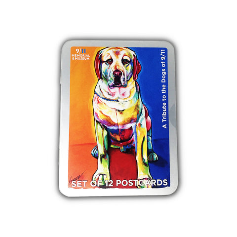 Rescue Dogs Postcard Tin