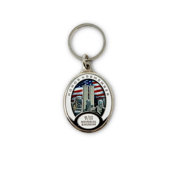 Twin Towers Elite Keychain