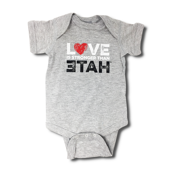Love is Stronger Than Hate Onesie