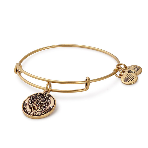Alex & Ani Survivor Tree Bracelet - Gold