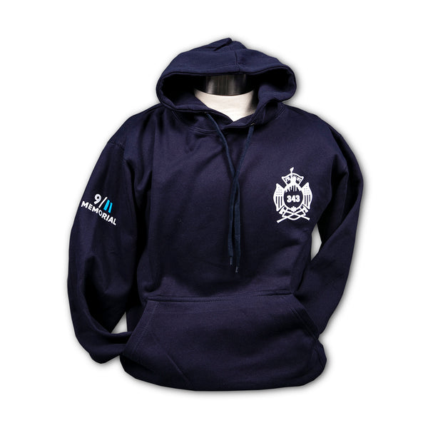 FDNY Shield Hooded Sweatshirt - Navy