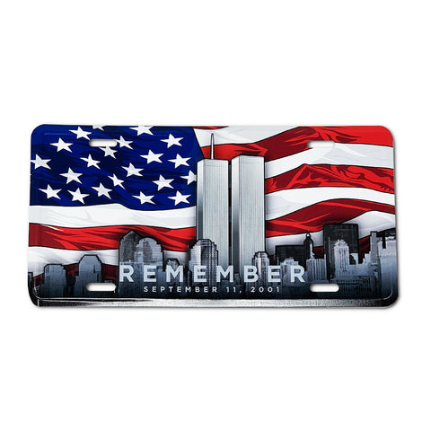 Remembrance License Plate